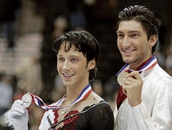 Illustration for article titled Evan Lysacek Tweets His Homophobia [Updated]