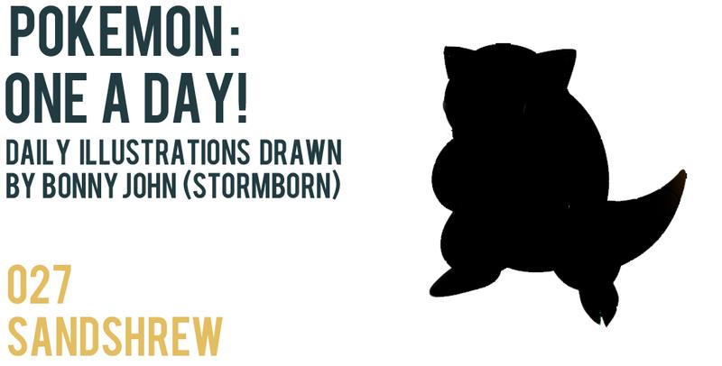 Illustration for article titled Sandshrew - Pokemon One a Day!