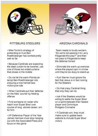 Illustration for article titled Super Bowl XLIII