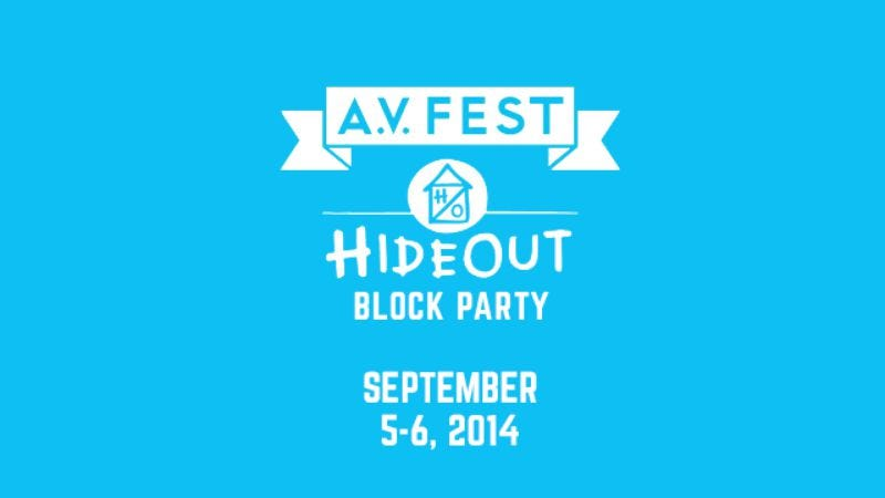 Illustration for article titled Early bird A.V. Fest/Hideout Block Party tickets on sale NOW