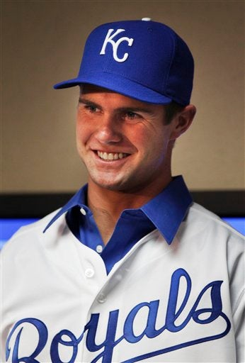 Illustration for article titled Bubba Starling, Golden Boy Royals Prospect, Busted For Underage Drinking