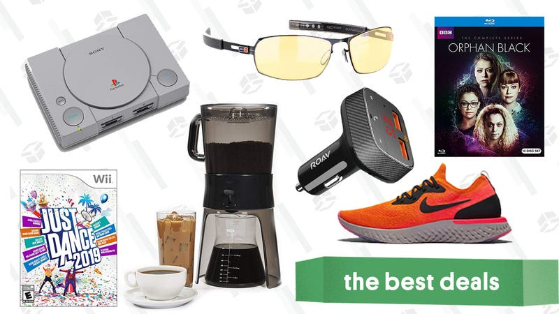Illustration for article titled Sunday's Best Deals: PlayStation Classic, Gunnar Glasses, Nike, and More