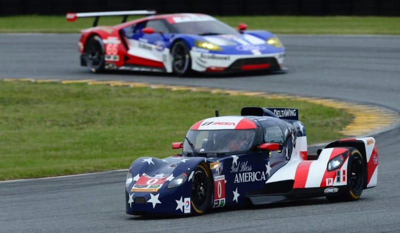 DeltaWing Crashes Into Stopped Car On Track After Controversial