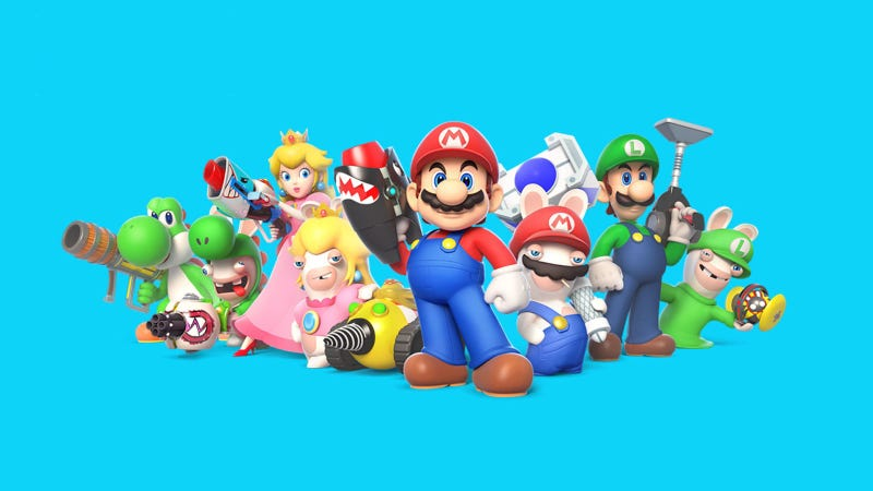 Illustration for article titled Mario + Rabbids Kingdom Battle, análisis: el mejor juego de Mario para Switch (de momento) no es de Nintendo