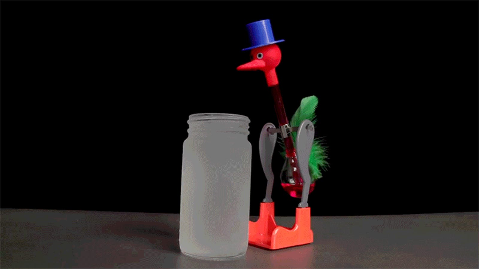 Why the Drinking Bird Toy Is Actually a Brilliant Piece of Thermodynamic Engineering