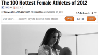 "Illustration for article titled The 25 Sexiest ""Sexiest Athlete"" Slideshows From Bleacher Report In 2012: A Slideshow"