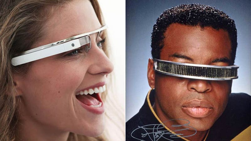 Illustration for article titled Google Glasses First Look: Would You Wear These Augmented Reality Specs?