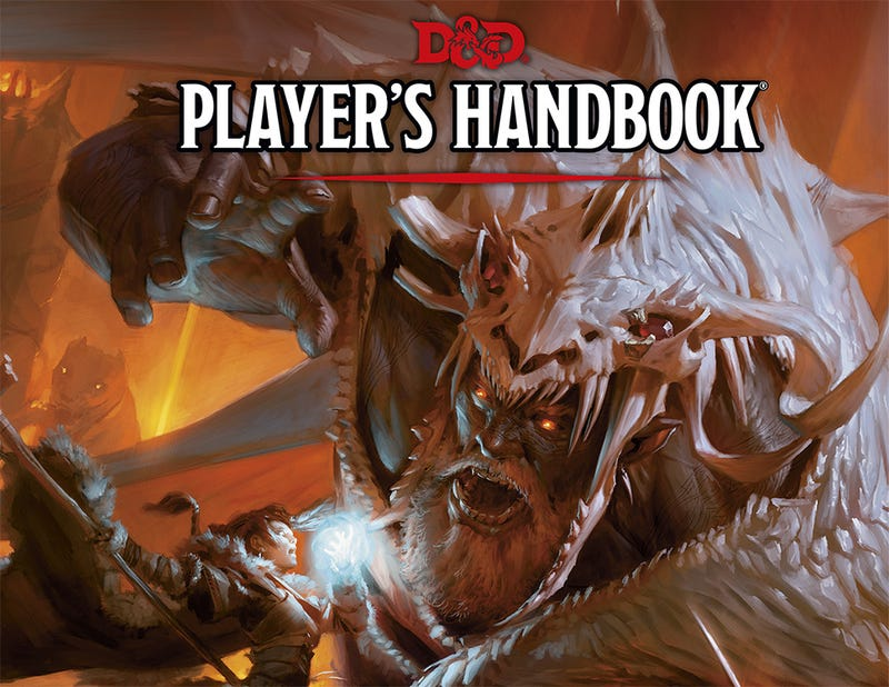 Illustration for article titled The New Dungeons & Dragons Player's Handbook Is Here