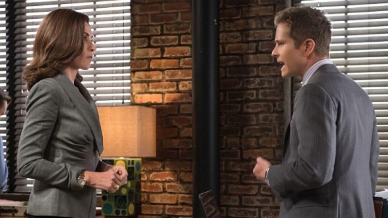 Julianna Margulies and Matt Czuchry (CBS)