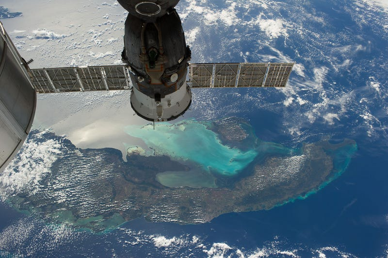 Illustration for article titled Russian spacecraft above, Cuba below...