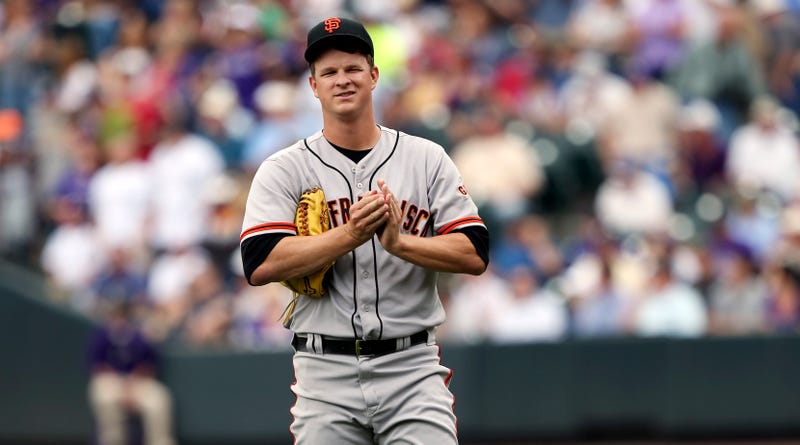 "Illustration for article titled Matt Cain Injured Himself Cutting His Sandwich Into ""Fancy Triangles"""