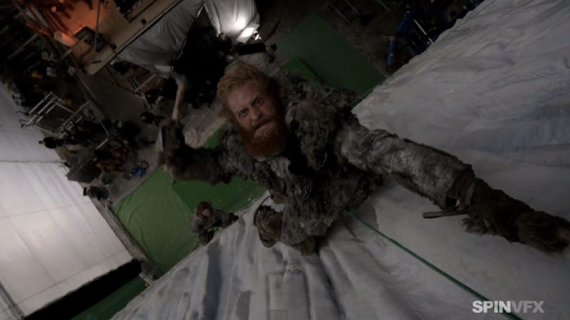 Illustration for article titled New Game of Thrones FX reel reveals the magic of season 3