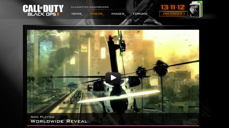Illustration for article titled Call of Duty: Black Ops II Is Official