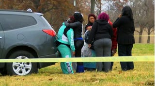 Families and friends mourn the tragic shooting deaths of two individuals  at the annual Juice Bowl in Louisville, Ky., on Thanksgiving Day 2016.Twitter Screenshot