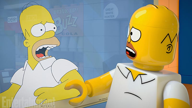 Illustration for article titled The Simpsons will air an entire episode in Lego