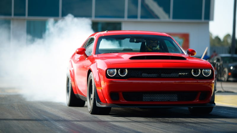 There Are Somehow Still New 2018 Dodge Challenger SRT Demons