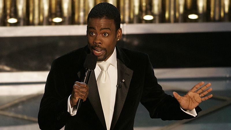 Illustration for article titled Chris Rock might become the next Oscars host everyone slams