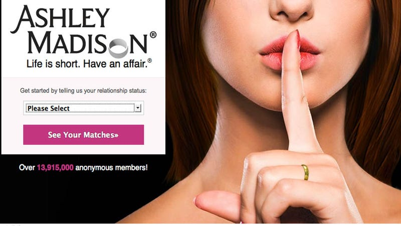 Illustration for article titled Woman Sues Ashley Madison for Injuries Sustained Typing Fake Profiles