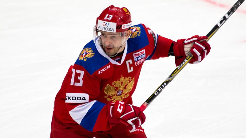 Pavel Datsyuk will captain the Russian team in Pyeonchang. Photo: Alexander Zemlianichenko/AP Images.