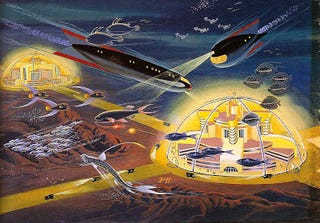 Illustration for article titled Undersea Cities (1954)