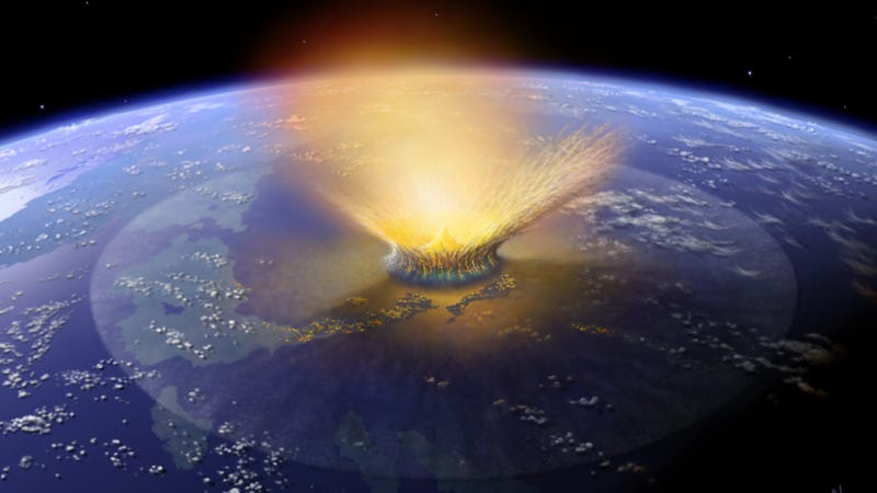 "Illustration for article titled ""Dinosaur-Killer"" Asteroid Impacts Are Much More Common Than We Thought"