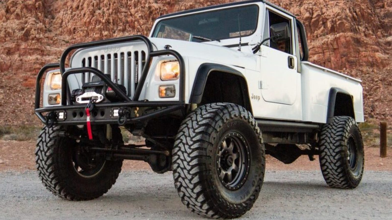 The Jeep CJ-10 Is the Ugliest Jeep Truck Ever but This One