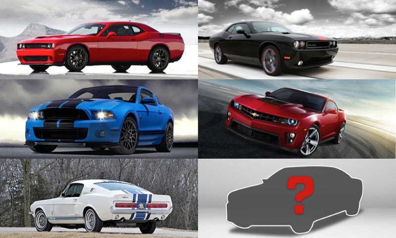 Illustration for article titled The Ultimate Muscle Car--Poll