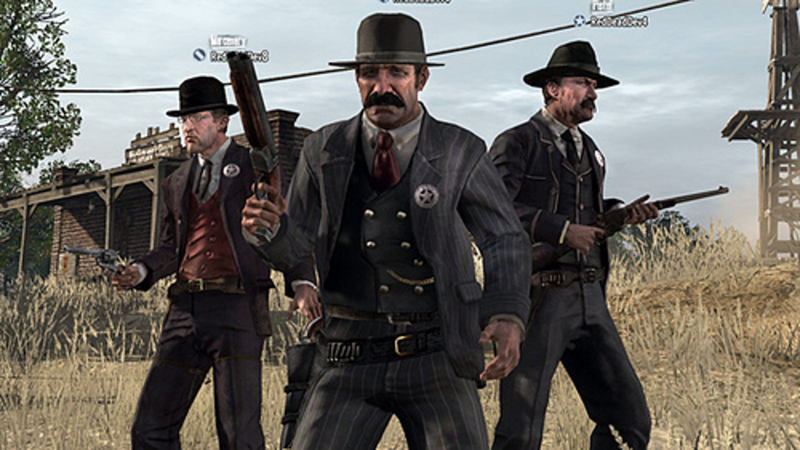Red Dead Redemption Multiplayer Brings In The Law
