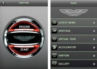 Illustration for article titled I Got the Aston Martin App