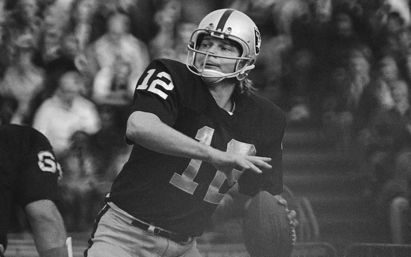 Ken Stabler isn't getting full recognition from Hall of Fame