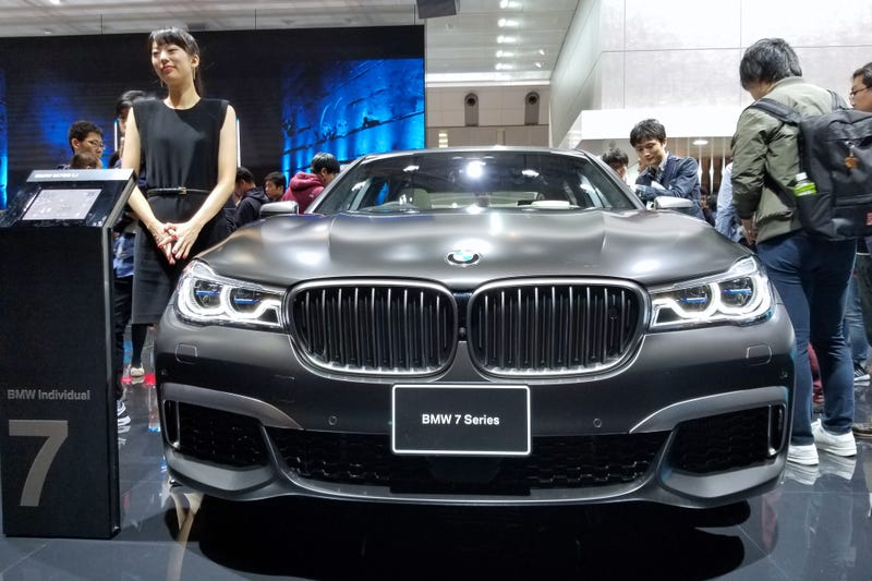 Illustration for article titled Photos: BMW At Tokyo Motor Show 2017