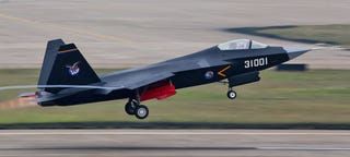 Illustration for article titled Pakistan Looking To Buy China's J-31 Stealth Fighter