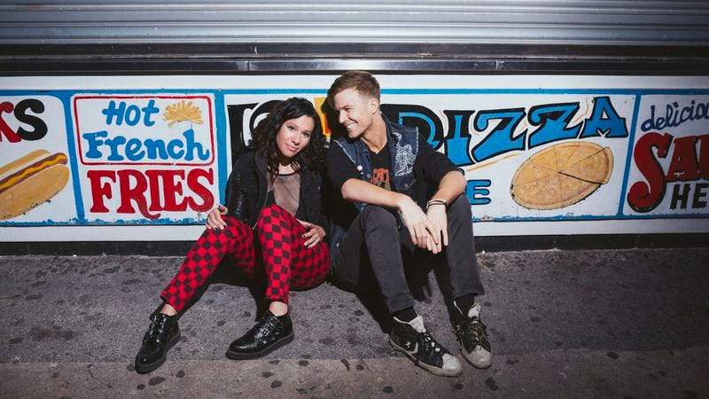 Illustration for article titled On their fifth LP, Matt And Kim are vibrant but vapid