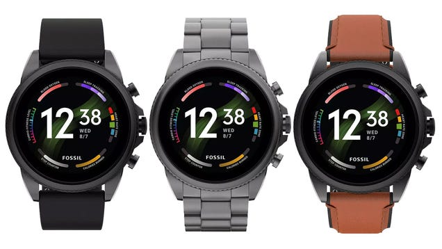 Fossil s New Wear OS Smartwatch Just Leaked