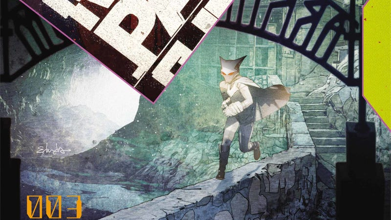 Illustration for article titled Mother Panic infiltrates Arkham Asylum in this exclusive preview