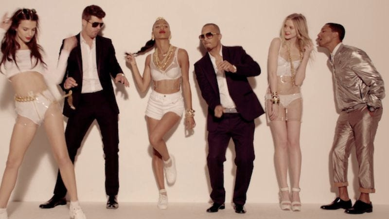 Illustration for article titled And now Marvin Gaye's family is suing Robin Thicke