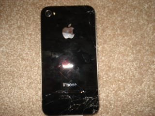 Illustration for article titled First iPhone 4 Broken After One-Foot Drop