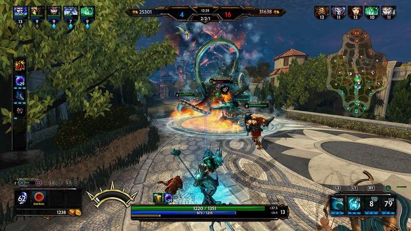 Illustration for article titled Smite's God Battles Spill Over Onto The PlayStation 4