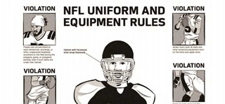 Illustration for article titled The NFL's Uniform Policies Are Even More Tight-Assed Than You Thought