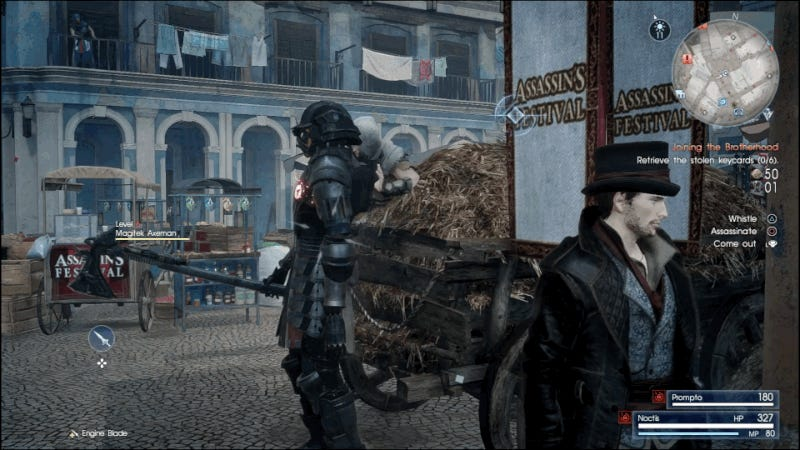 Final Fantasy XV's Fascinating Assassin's Creed Expansion Is About