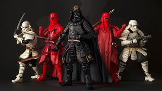 Illustration for article titled Bandai's Samurai Star Wars Figures Have Gotten Even Better