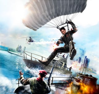 Illustration for article titled Make Rico Pull Off the Best Just Cause 2 Stunt: UPDATED