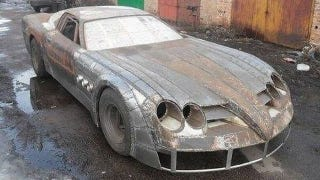 Illustration for article titled Handbuilt Russian Mercedes SLR Mclaren replica must be seen to be believed