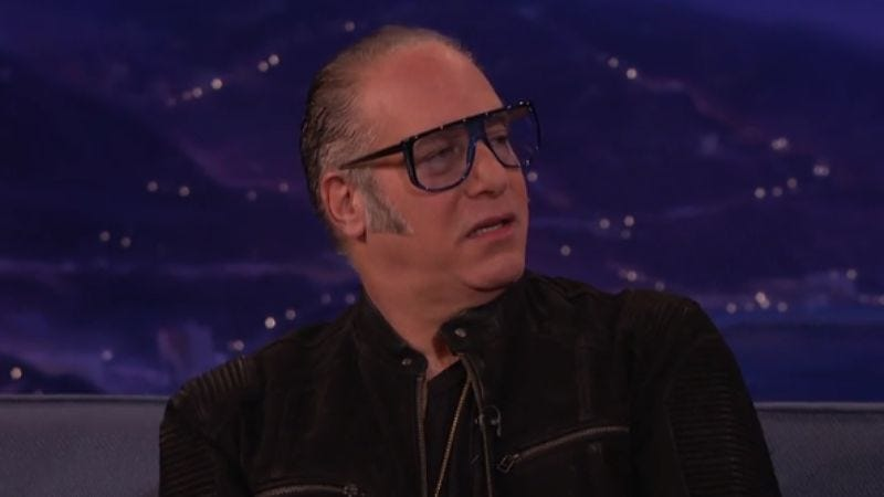 "Illustration for article titled Andrew Dice Clay accuses Trump of ""stealing his act"" on Conan"
