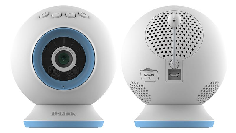 Illustration for article titled D-Link's Nightvision Baby Cam Can Play Lullabies For Restless Kids