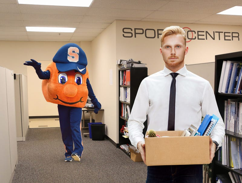 Illustration for article titled New 'This Is SportsCenter' Commercial Features Otto The Syracuse Orange Laying Off Staffers