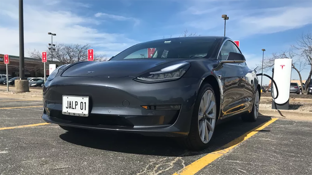 Tesla Model 3 Sets Record Distance on a Single Charge, But It Mysteriously Won t Recharge