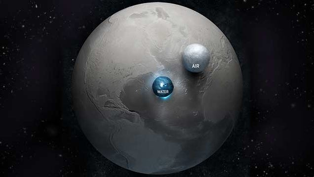 Image result for earth water vs air