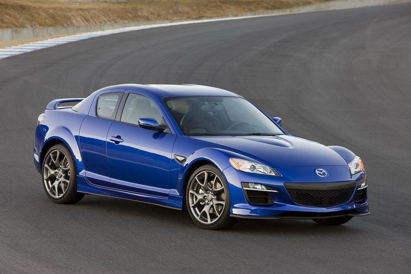 Illustration for article titled RX-8s?