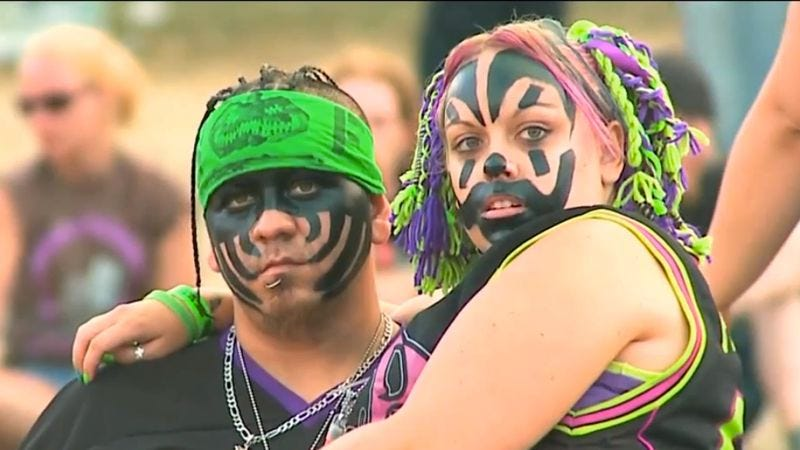 Behold the juggalo, in its natural habitat…